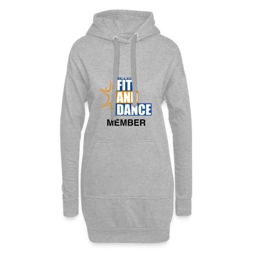 FitAndDanceMember - Hoodie-Kleid