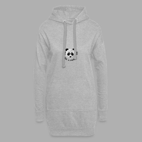 be a pandaa - Hoodie-Kleid
