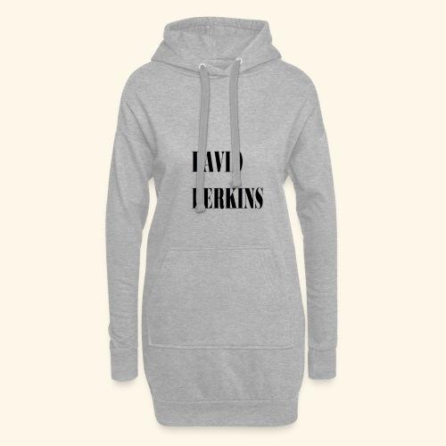 logo David Perkins - Sweat-shirt à capuche long Femme