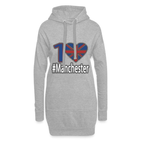 One Love Manchester - Hoodie Dress