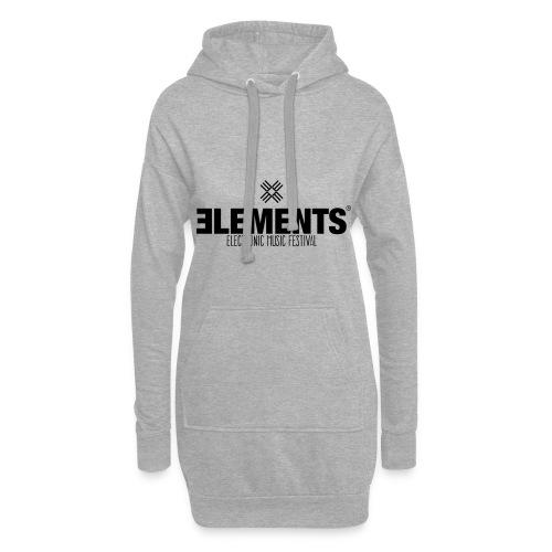 Elements Logo - Hoodie-Kleid