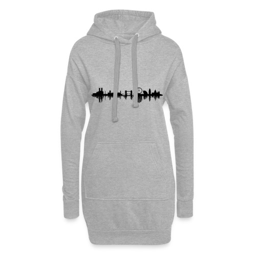 The Sound Of London - Hoodie-Kleid