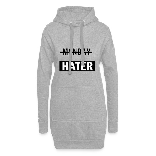 monday hater - Hoodie Dress