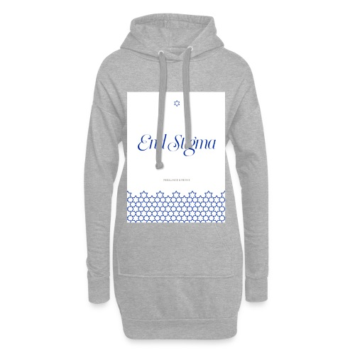 Lets end the stigma of mental health issues - Hoodie Dress