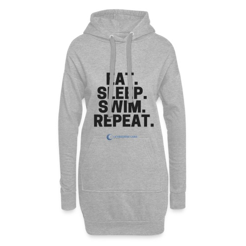 EAT. SLEEP. SWIM. REPEAT. - Hoodie Dress