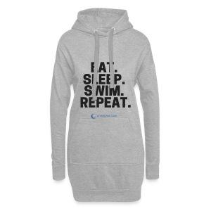 EAT. SLEEP. SWIM. REPEAT. - Hoodie Dress