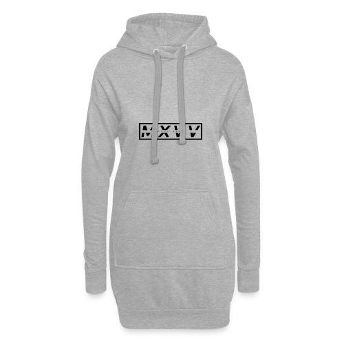 MXVV GANG • BLACK EDITION - Hoodie-Kleid