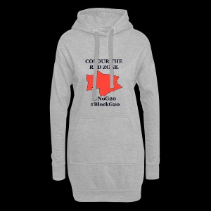 Colour the red Zone - Hoodie-Kleid