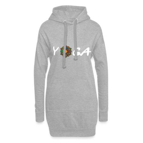 YOGA MANDALA T-SHIRT - Hoodie-Kleid