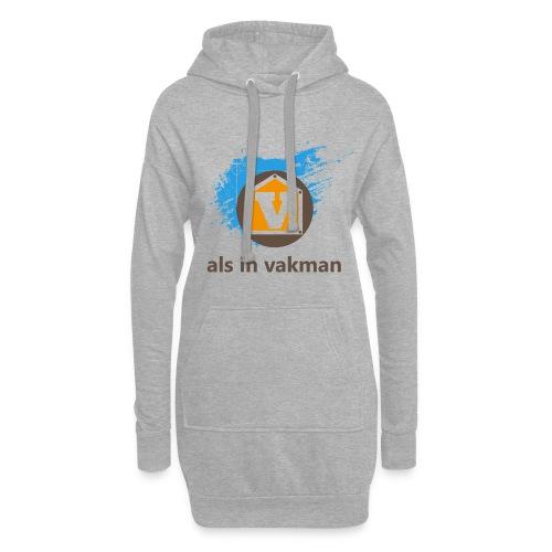 V als in Vakman - Hoodiejurk