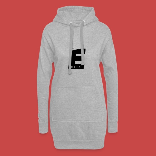 Elia Logo - Schwarz - Hoodie-Kleid