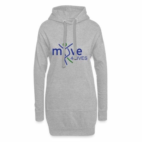 Move4Lives - Hoodie-Kleid