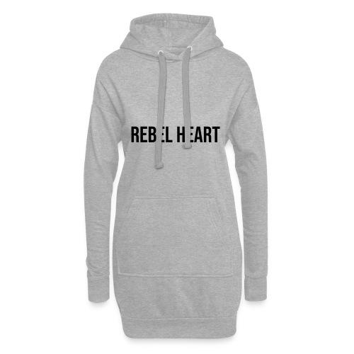 Rebel Heart - Hoodie-Kleid