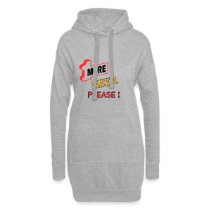 1More BEER please - Hoodie-Kleid