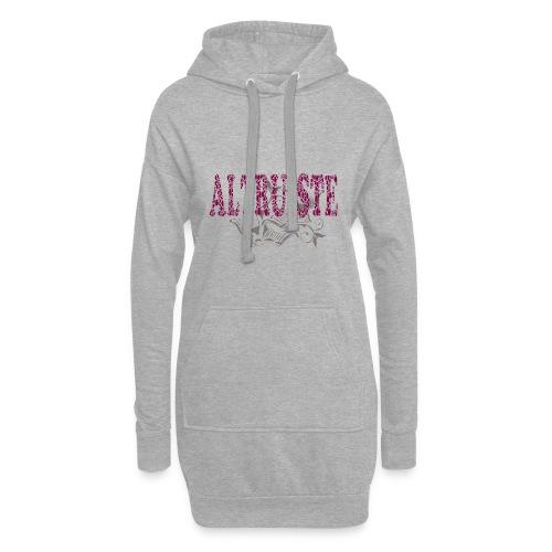 Altruiste1 - Sweat-shirt à capuche long Femme