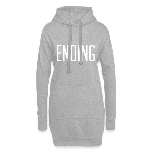 Simple Ending Text - Hoodie Dress