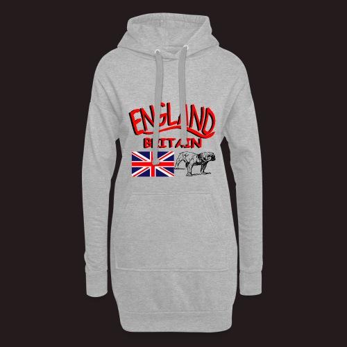 England - Hoodie-Kleid