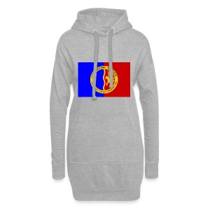 1200px Flag of the Comanche Nation svg - Sweat-shirt à capuche long Femme