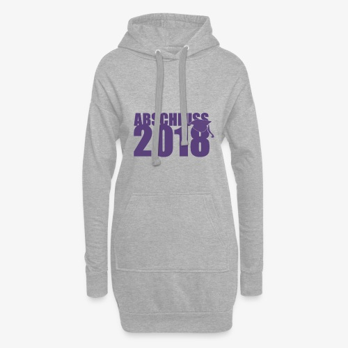 Abschluss 2018 purple - Hoodie-Kleid