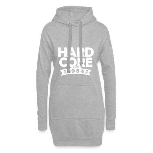 hard core since 1984 - Hoodie-Kleid