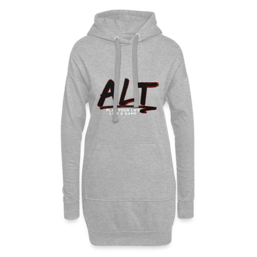 ALT Collection Special RED PLAY YOUR LIFE - Sweat-shirt à capuche long Femme