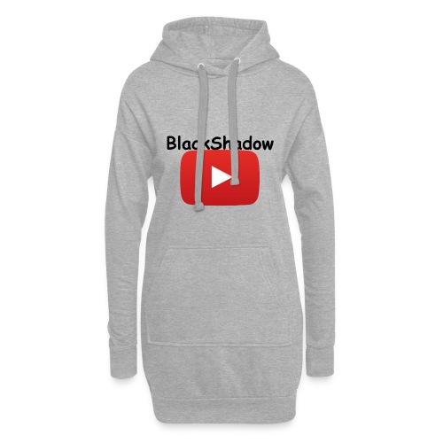 BlackShadow-Youtube - Hoodie-Kleid
