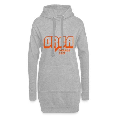 Hoodie mit ORCA-Logo orange - Hoodie-Kleid