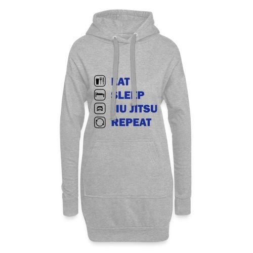 Eat, Sleep, Jiu Jitsu, Repeat - Hoodie Dress