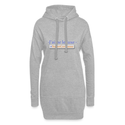 Superconnasse - Sweat-shirt à capuche long Femme