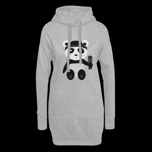 Gangsta-Panda - Hoodie-Kleid