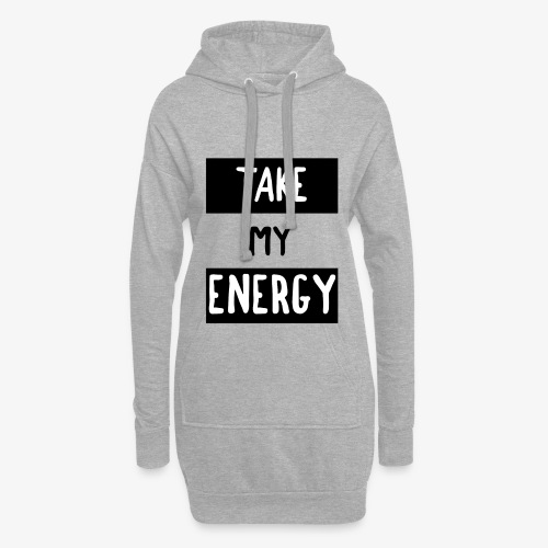 TAKE MY ENERGY - Sweat-shirt à capuche long Femme