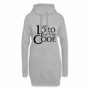The Lord of the Code - Długa bluza z kapturem