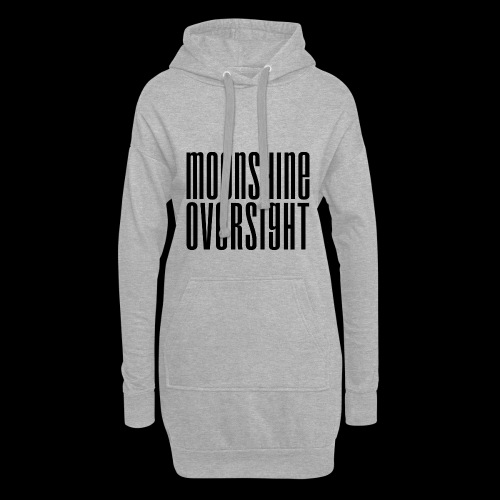 Moonshine Oversight noir - Sweat-shirt à capuche long Femme