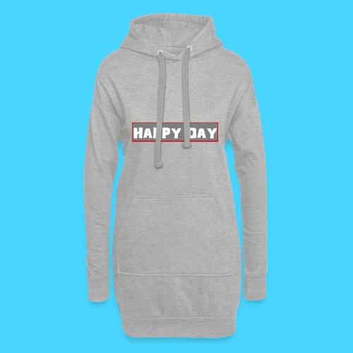 happy_day - Hoodie-Kleid