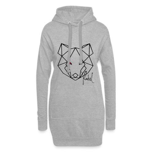 Wolf Rudel - Hoodie-Kleid