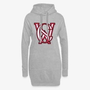 SCW-Logo - Hoodie-Kleid