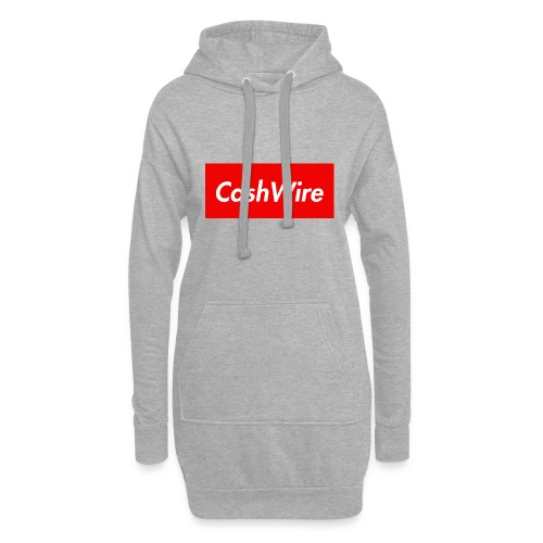 CashWire Box Logo Apparel - Hoodie Dress