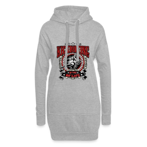 Kickboxing - My Way Of Life - Hoodie-Kleid