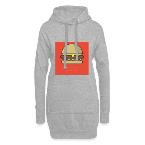 BURGER QUEEN - Sweat-shirt à capuche long Femme