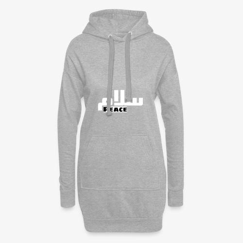 Peace 🕊 ☮ سلام arabic t-shirt - Hoodie-Kleid