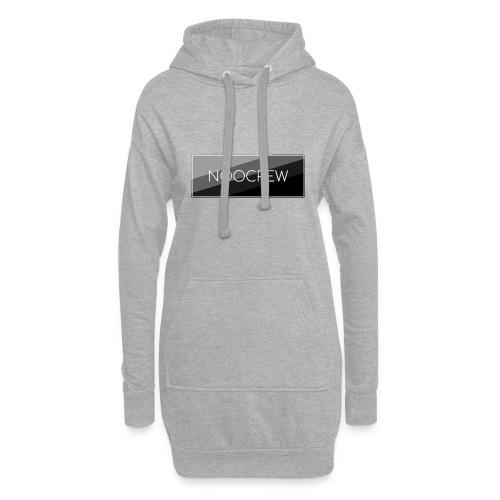 NooCrew Black Design - Hoodie-Kleid