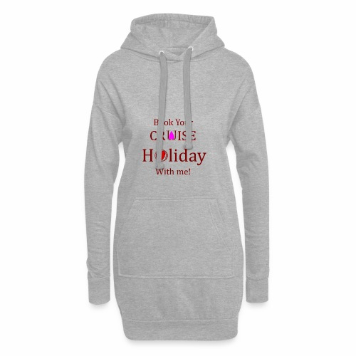 Book your Holiday 1 - Hoodie Dress