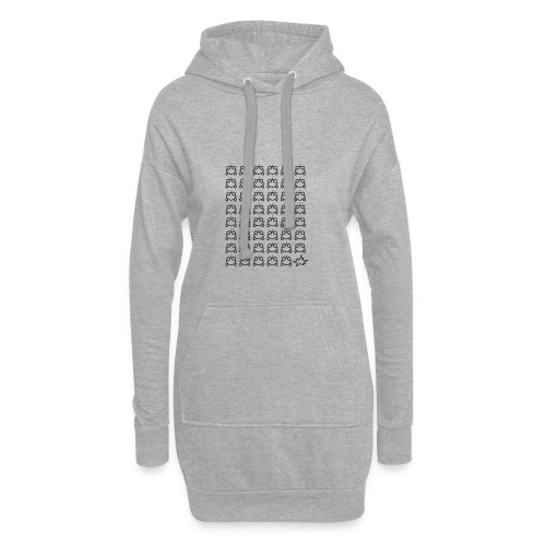 Kanllfrosch Elektro - Boom - Hoodie-Kleid