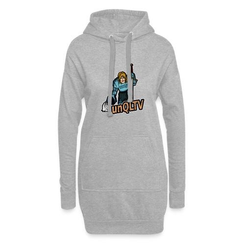 unQLTV Merchandise - Hoodie-Kleid