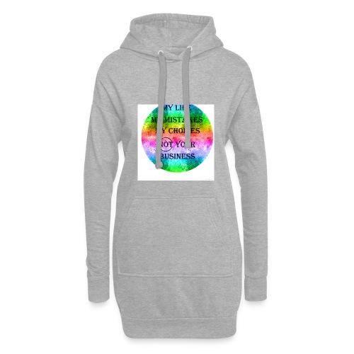 Rainbow/Regenbogen - Hoodie-Kleid
