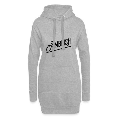 AMBLISH Logo BLACK - Hoodie-Kleid