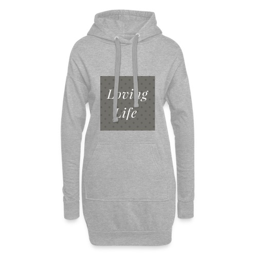 loving life top - Hoodie Dress