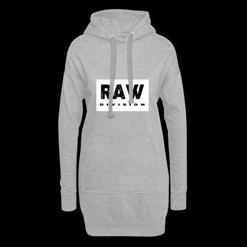 Raw DIvision BLACK LOGO - Hoodie Dress