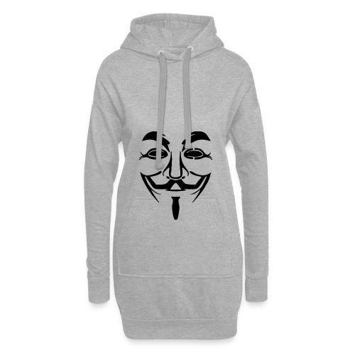 anonym vendetta - Hoodie-Kleid