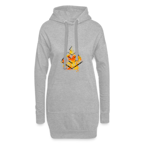 eX Graphic Logo 2 - Hoodie-Kleid